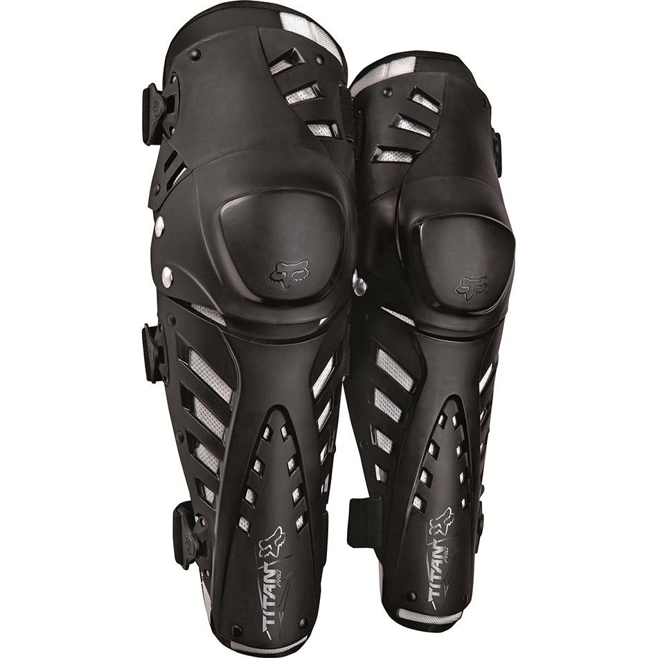 Fox - 2020 Titan Pro Knee CE Black защита колена и голени, черная