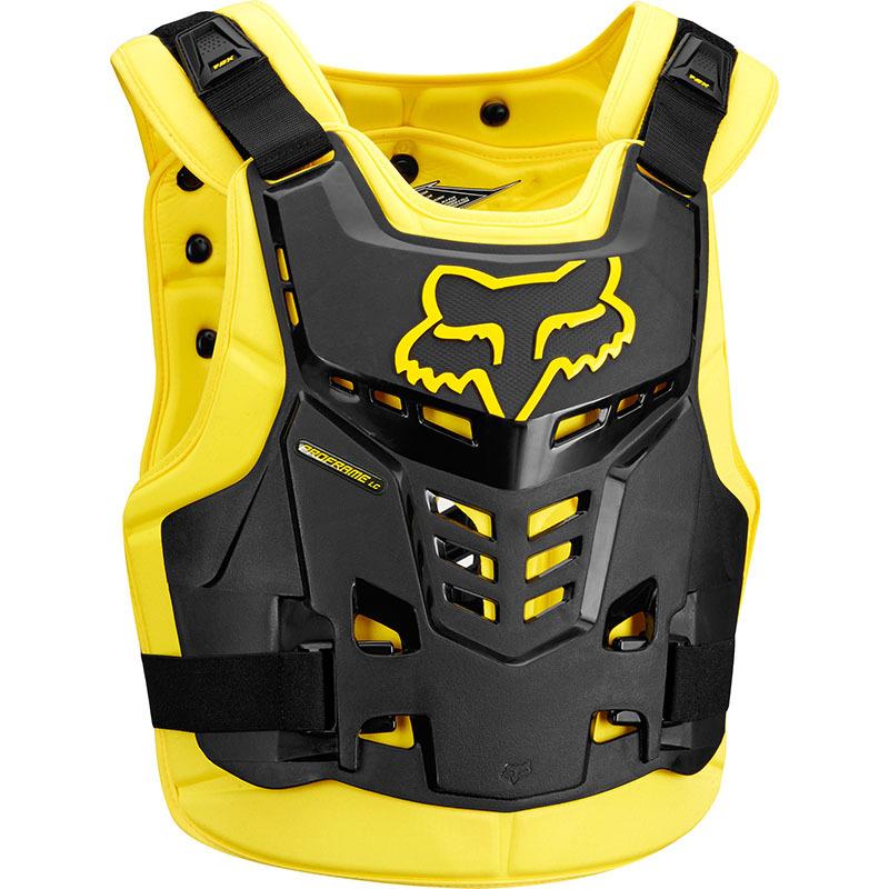Fox - 2018 Proframe LC Roost Deflector CE Black/Yellow жилет защитный черно-желтый