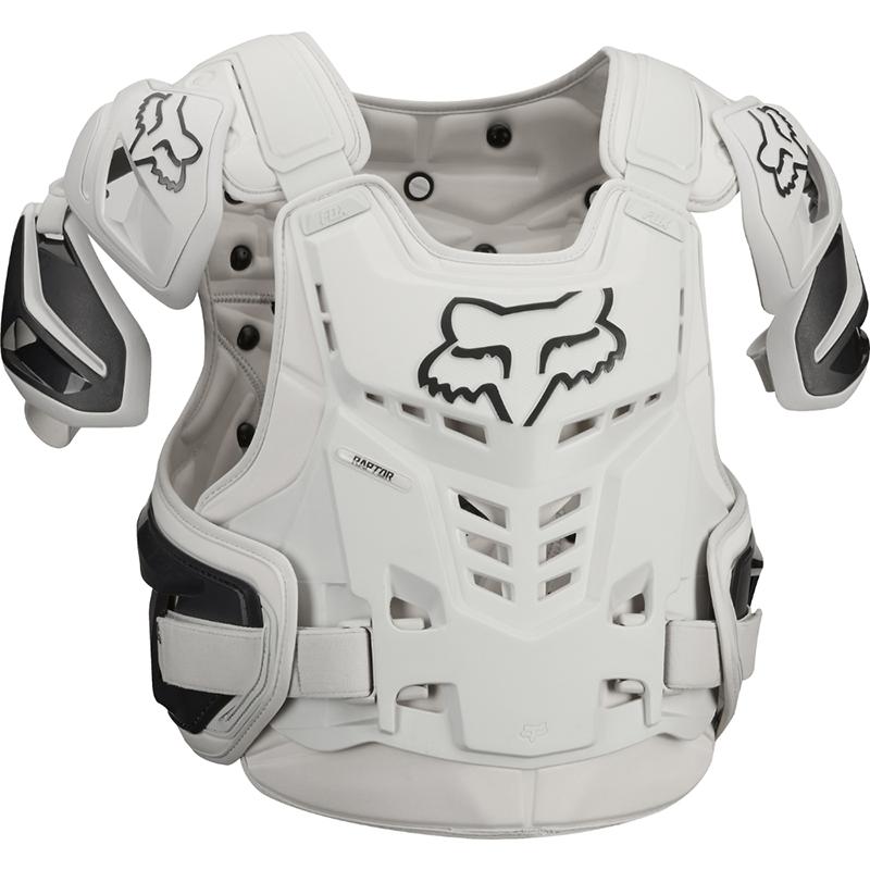 Fox - 2018 Raptor Vest CE Light Grey жилет защитный серый