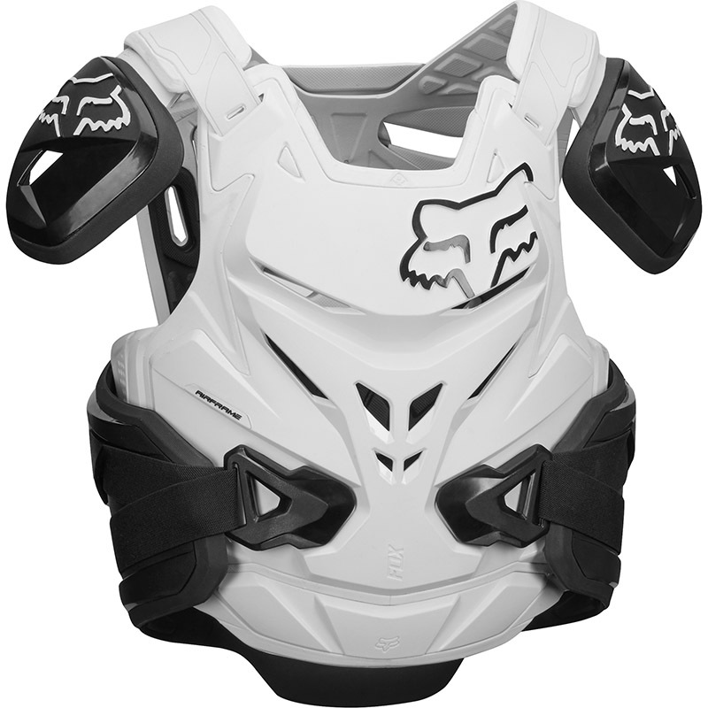 Fox Airframe Pro Jacket CE Black/White жилет защитный, черно-белый