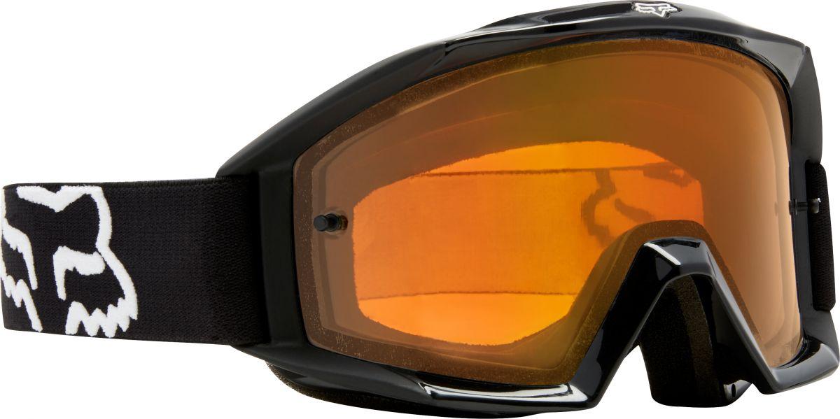 Fox - 2018 Main Enduro Matte Black/Orange очки, черно-оранжевые матовые