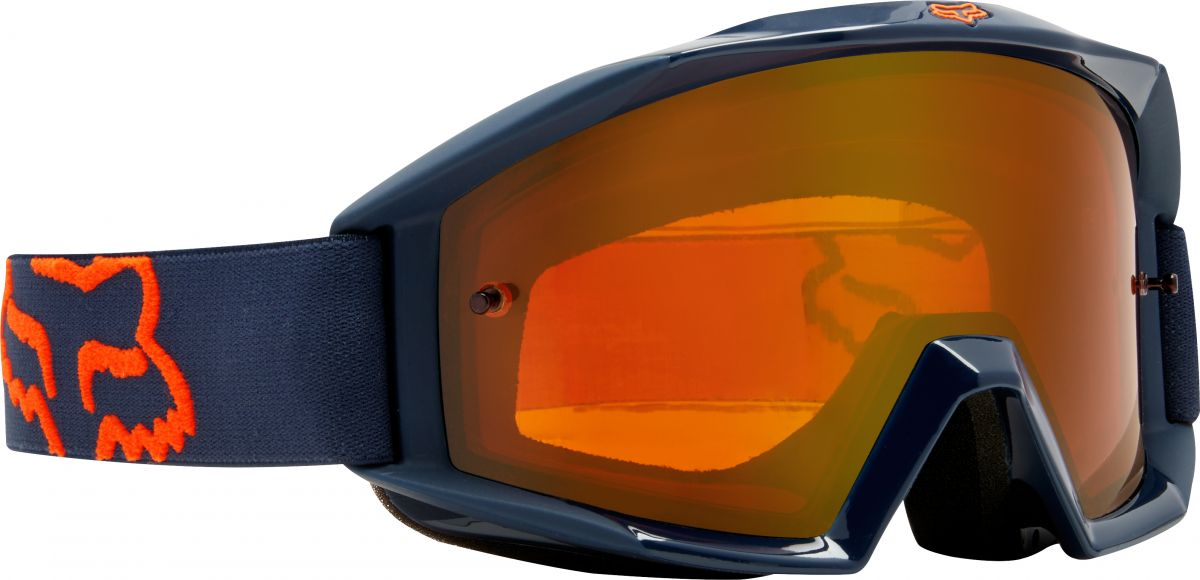 Fox - 2018 Main Enduro Navy/Orange очки, сине-оранжевые