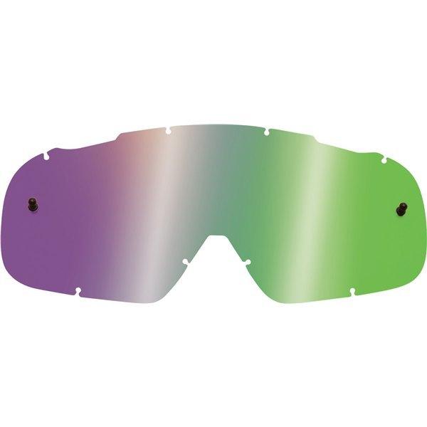 Fox - 2018 Air Space Lenses Green Spark линза зеркальная, зеленая