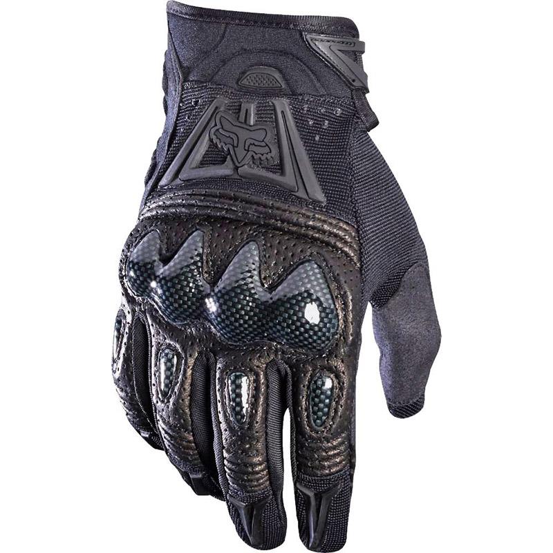 Fox Bomber Black перчатки, черные