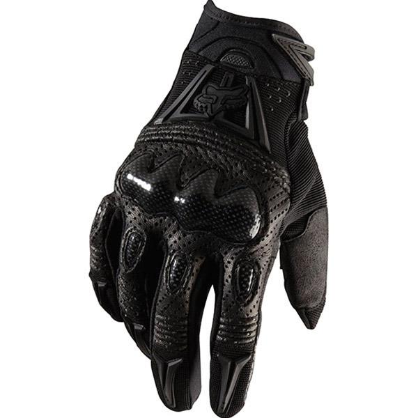 Fox - 2018 Bomber Black/Black перчатки, черные