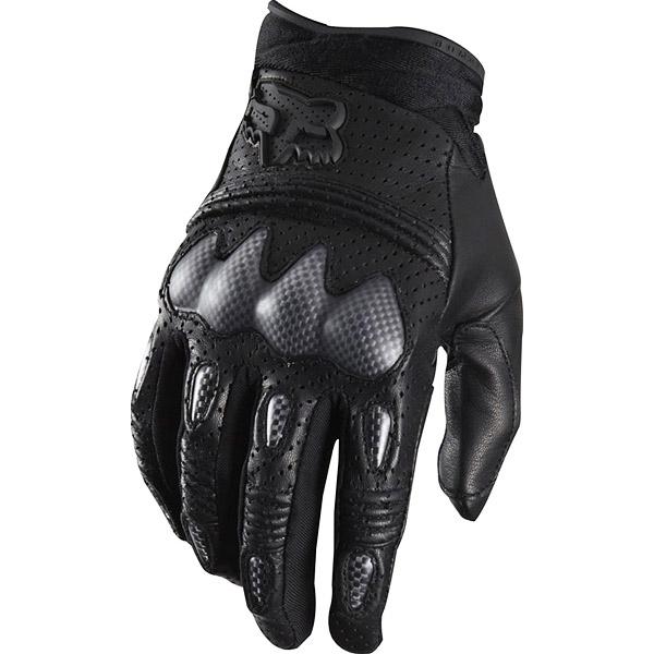 Fox Bomber S Black перчатки, черные