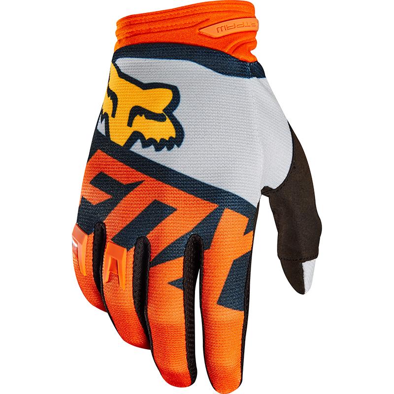Fox - 2018 Dirtpaw Sayak Orange перчатки, оранжевые