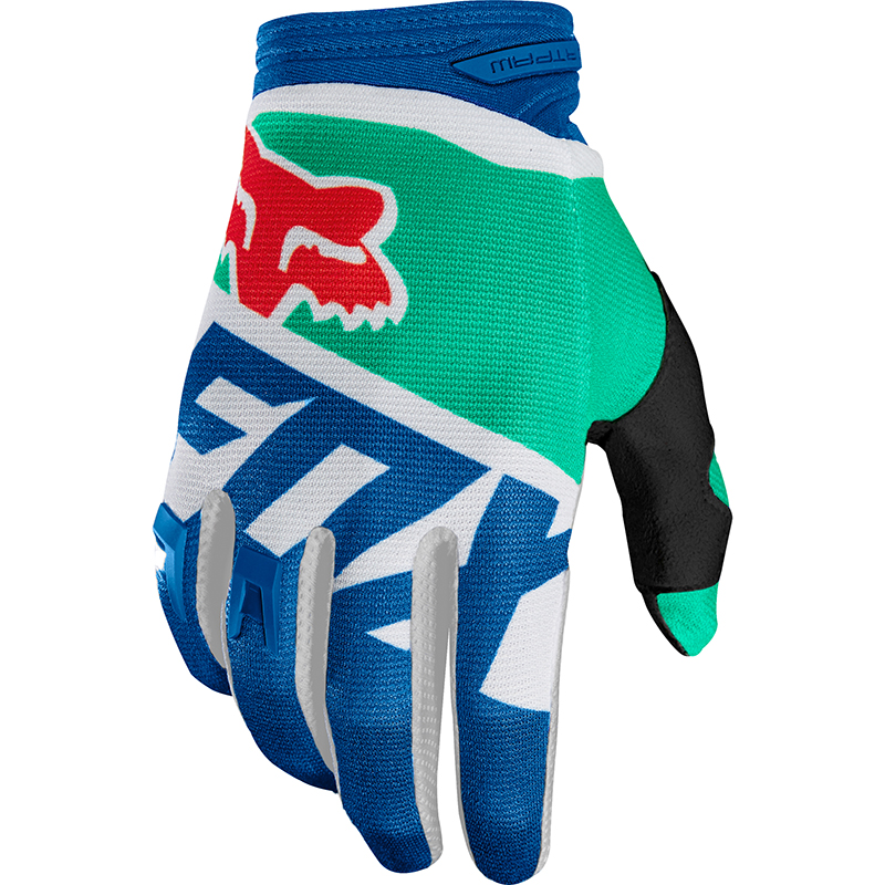 Fox - 2018 Dirtpaw Sayak Green перчатки, зеленые