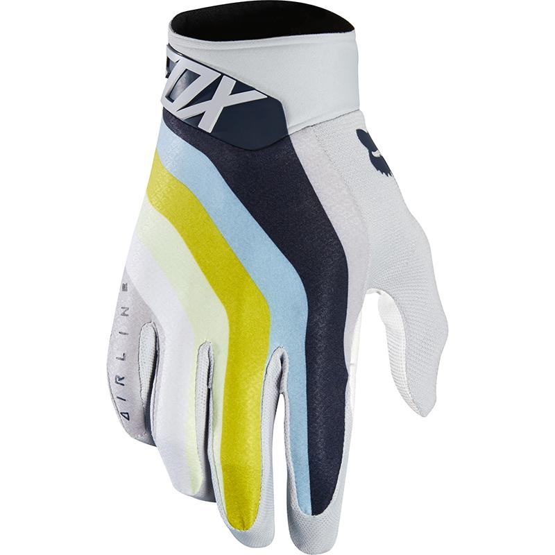 Fox Airline Draftr LT Grey перчатки, серые