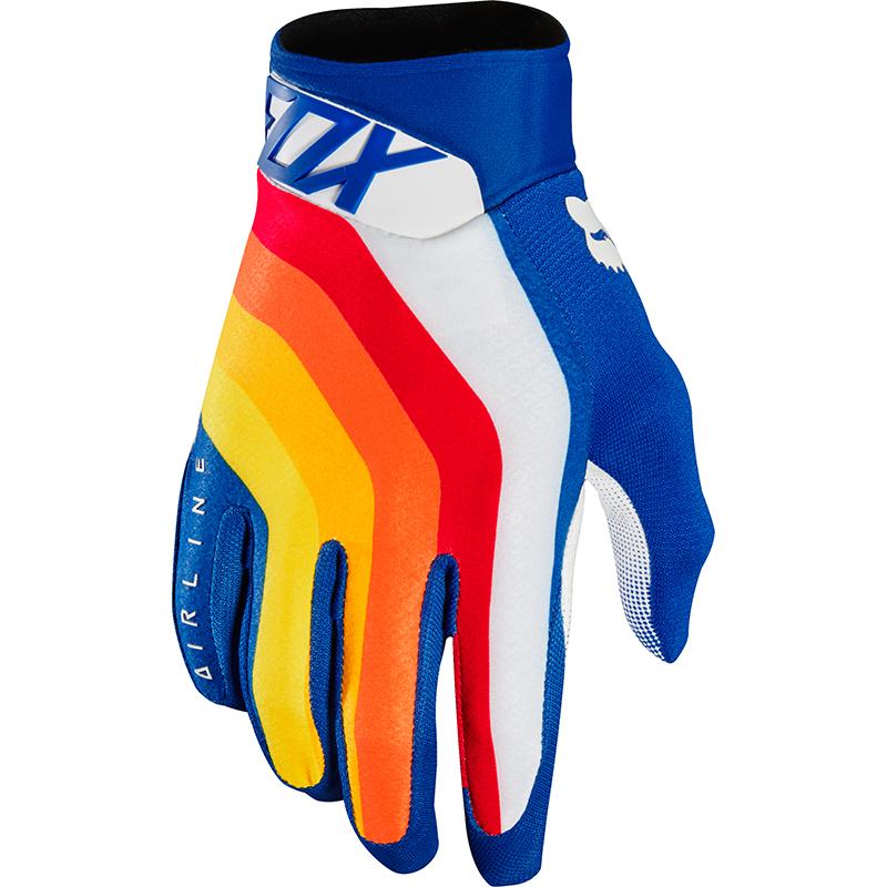 Fox - 2018 Airline Draftr Blue перчатки, синие