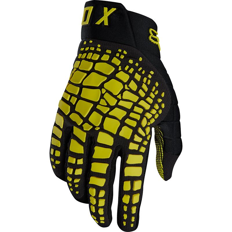 Fox - 2018 360 Grav Dark Yellow перчатки, темно-желтые