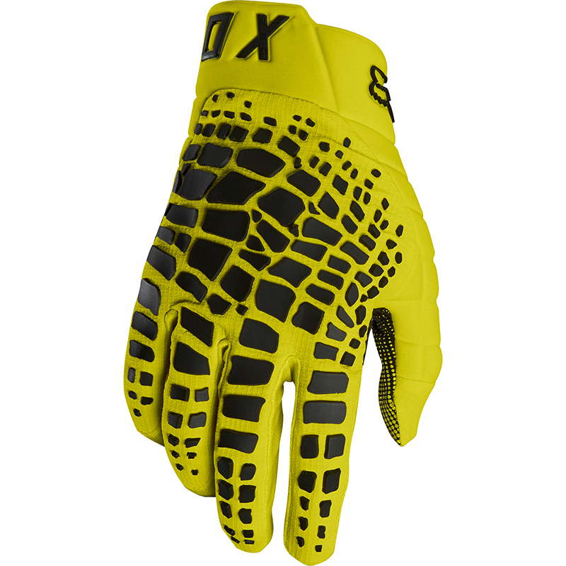 Fox - 2018 360 Grav Yellow перчатки, желтые