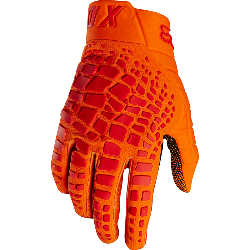 Fox - 2018 360 Grav Orange перчатки, оранжевые