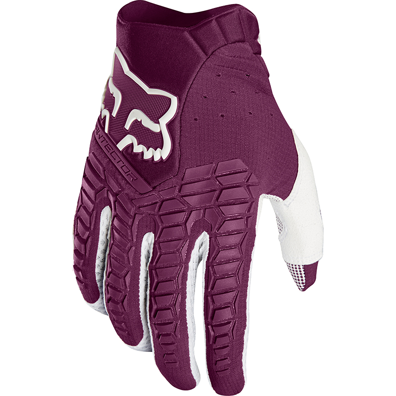 Fox - 2018 Pawtector Purple перчатки, фиолетовые
