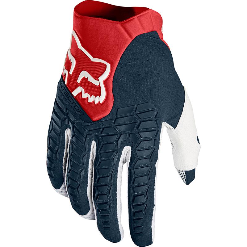 Fox Pawtector Navy/Red перчатки, сине-красные