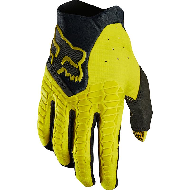 Fox - 2018 Pawtector Dark Yellow перчатки, желтые