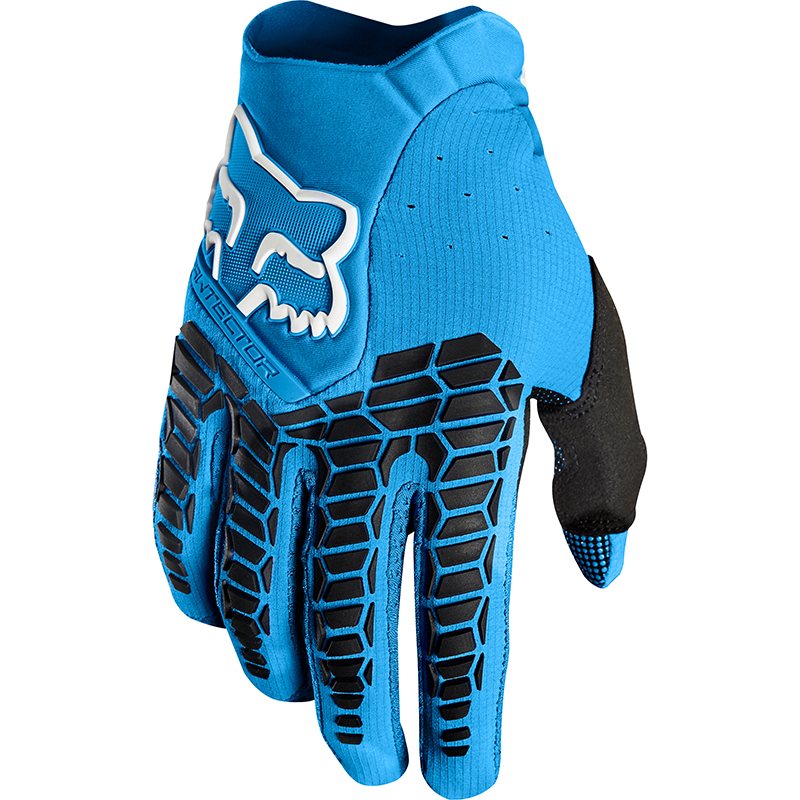 Fox - 2018 Pawtector Blue перчатки, синие