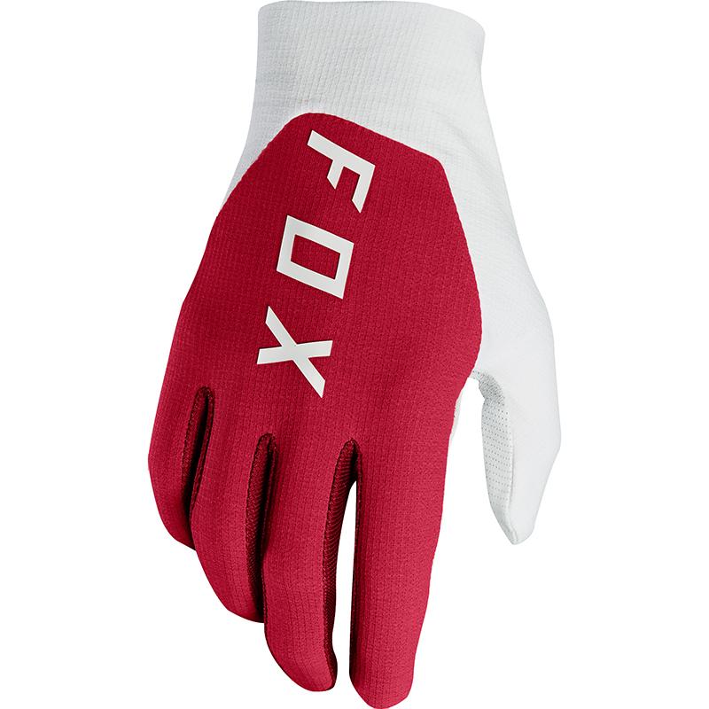 Fox - 2018 Flexair Preest Dark Red перчатки, красные