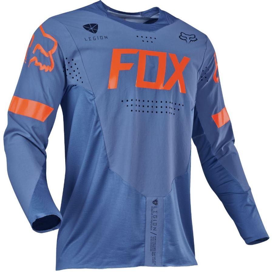 Fox - 2018 Legion Offroad джерси, синее