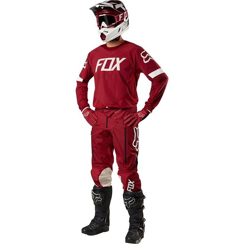 Fox - Legion Offroad Dark Red комплект джерси и штаны, темно-красный