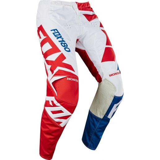 Fox - 2018 180 Honda Red штаны, красные