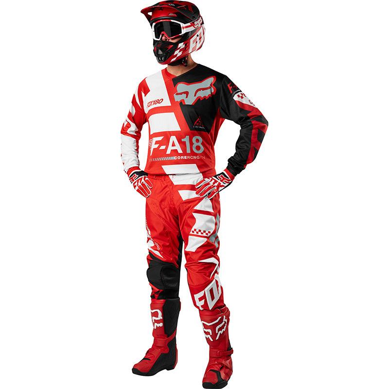 Fox - 2018 180 Sayak Red комплект джерси и штаны, красный