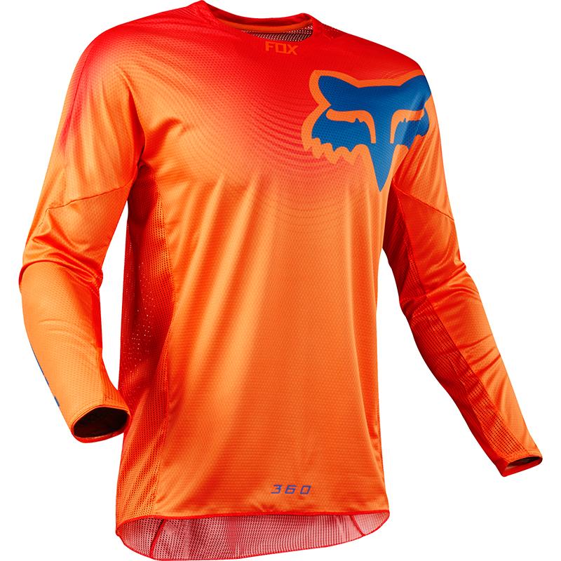 Fox - 2018 360 Viza Orange джерси, оранжевое