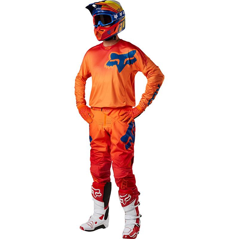 Fox - 2018 360 Viza Orange комплект джерси и штаны, оранжевый