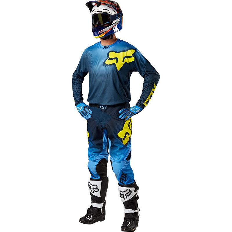 Fox - 2018 360 Viza Blue комплект джерси и штаны, синий