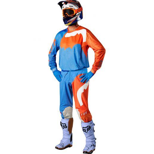 Fox - 2018 Flexair Hifeye Orange комплект джерси и штаны, оранжевый