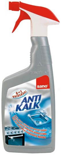 Sano Antikalk 4 in 1 universal Средство чистящее универсальное для удаления камня, ржавчины, известкового налёта и жира 4 в 1 700 мл