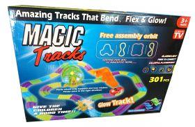 MAGIC TRACKS 301 ДЕТАЛЬ С МУЗЫКОЙ И КОЛЕСОМ ОБОЗРЕНИЯ