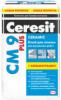 Клей для Плитки и Керамогранита 25кг Ceresit CM 9 Plus для Внутренних Работ / Церезит СМ 9