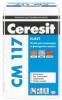 Клей для Клинкера и Фасадного Камня 25кг Ceresit CM 117 / Церезит СМ 117