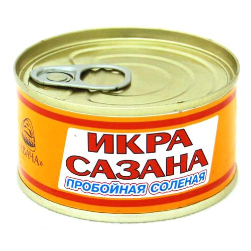 Икра Сазан 130г Пробойная ж/б