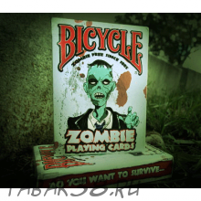 Карты Bicycle Zombies