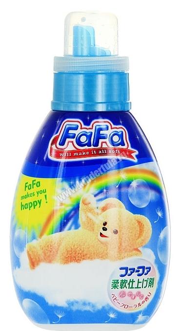 NS Кондиционер для детского белья «FaFa» с цветочным ароматом, флакон, 600 мл