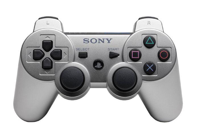 Sony Dualshock 3 Геймпад PS3 серебро OEM