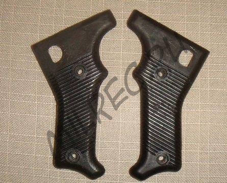 Накладки на рукоятку пулемета MG-42 (копия) варианты: черный и темно-коричневый