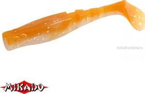 """Виброхвост Mikado Fishunter 2 """"съедобная резина"""" 7.5 см. /цвет:  328  уп.=5 шт."""