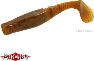 """Виброхвост Mikado Fishunter 2 """"съедобная резина"""" 7.5 см. /цвет:  333  уп.=5 шт."""