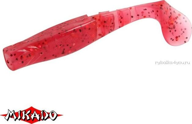 Купить Виброхвост Mikado Fishunter 2 съедобная резина 7.5 см. /цвет: 334 уп.=5 шт.