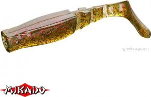 """Виброхвост Mikado Fishunter 2 """"съедобная резина"""" 7.5 см. /цвет:  358  уп.=5 шт."""