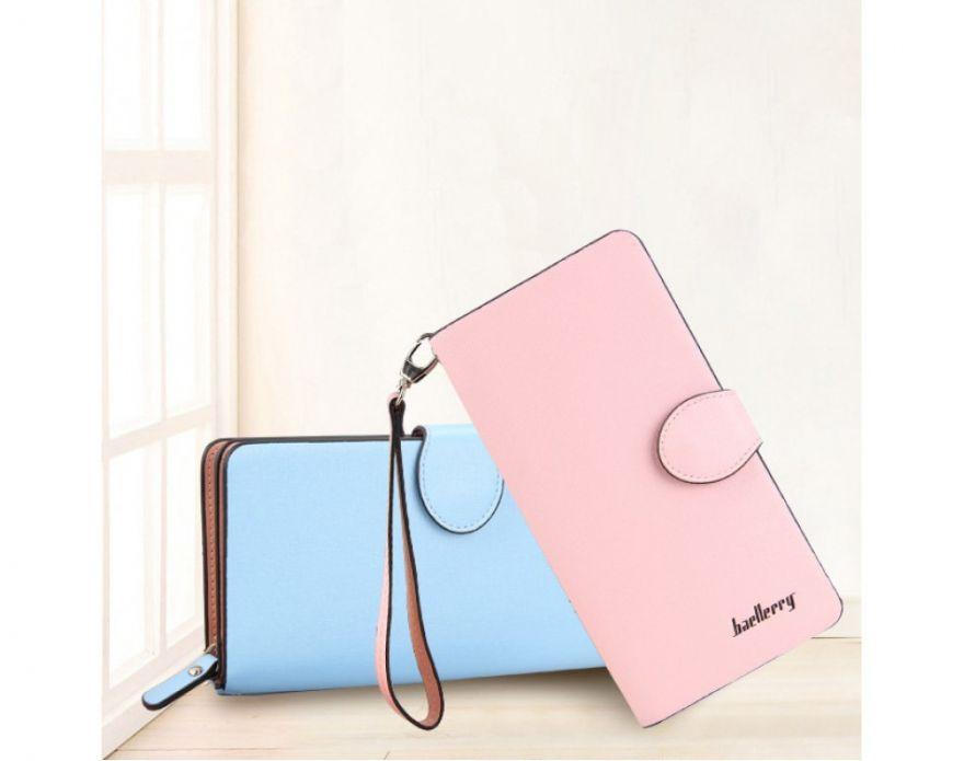 Женский кошелек Baellerry (Цвет: Голубой)