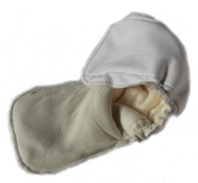 Вкладыши-Подгузники с резиночкой непромокаемые (цена за 2 шт)