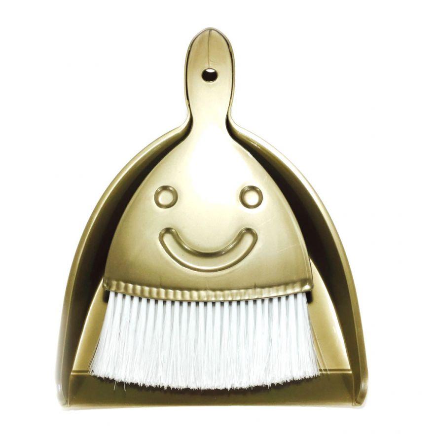 Набор метёлка со смайликом и совок Broom