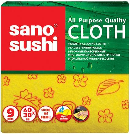 Sano Brite Cloth Многофункциональные тряпки 40*38 см 3 шт