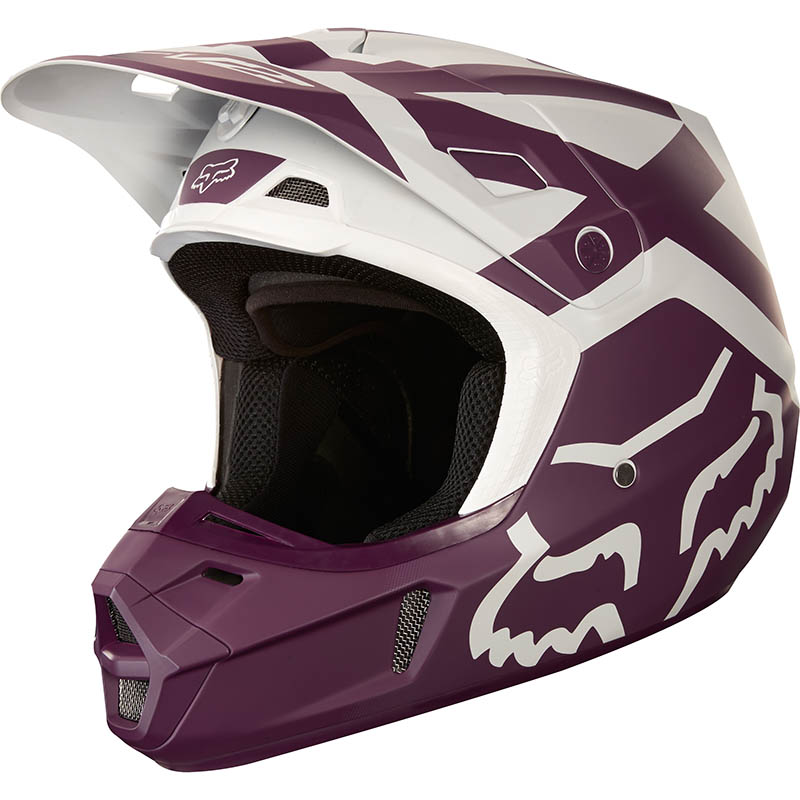 Fox - 2018 V2 Preme Purple ECE шлем, фиолетовый