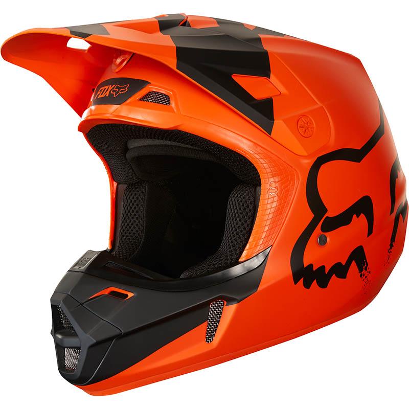 Fox - 2018 V1 Mastar ECE Youth Orange шлем подростковый, оранжевый