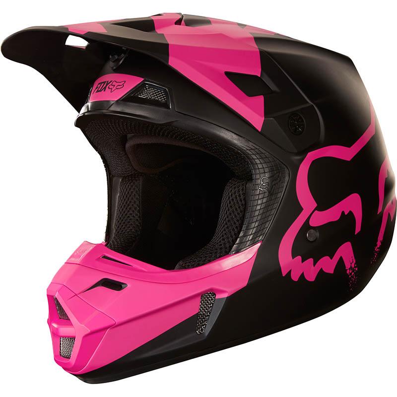 Fox - 2018 V2 Mastar Black ECE шлем, черный